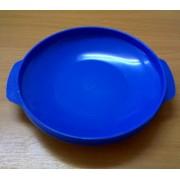Тарелка солдатская пластмассовая