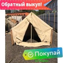 Палатка Гарнизон-4 брезентовая
