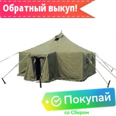 Армейская брезентовая палатка УСТ-56