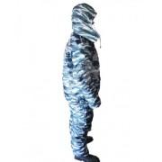 Костюм зимний (куртка+ полукомбинезон) тк. Оксфорд расцветка КМФ (серый)